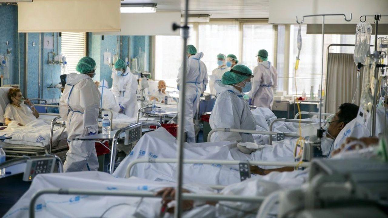 En Espagne, le nombre de décès est tombé au plus bas depuis le 20mars.
