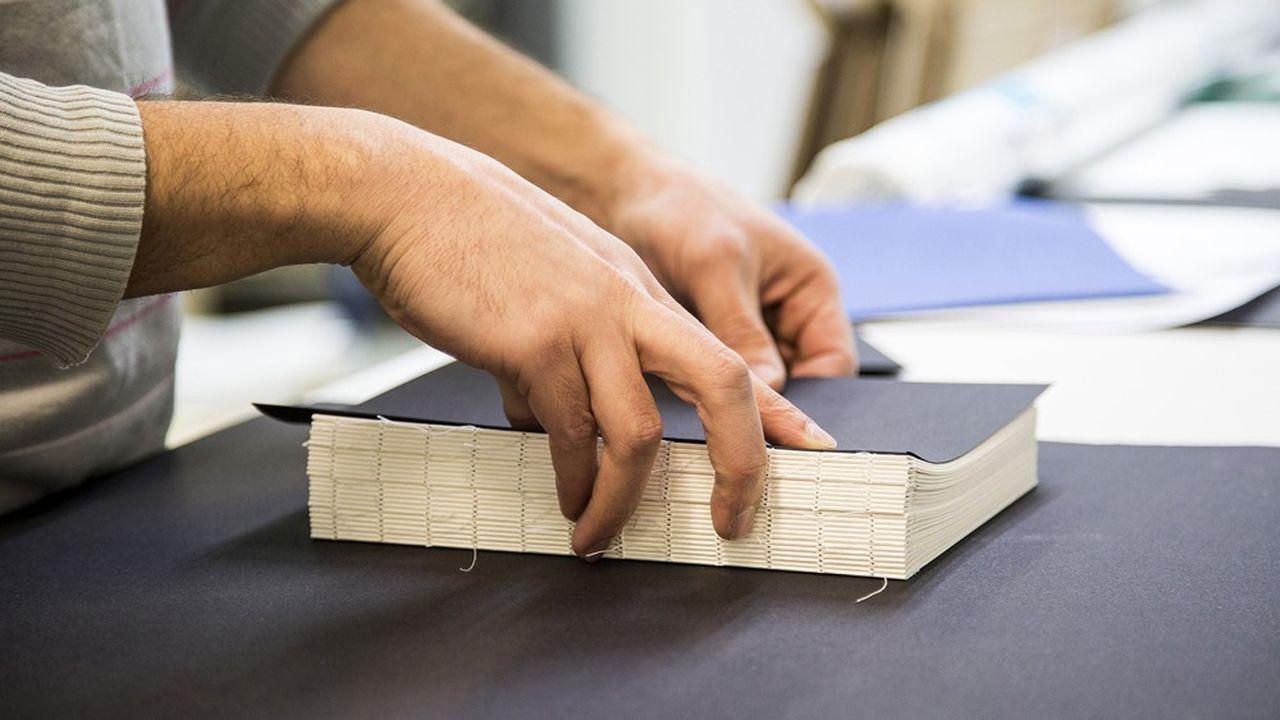 L'imprimerie d'art familiale a mis la moitié de ses 100collaborateurs au chômage partiel.