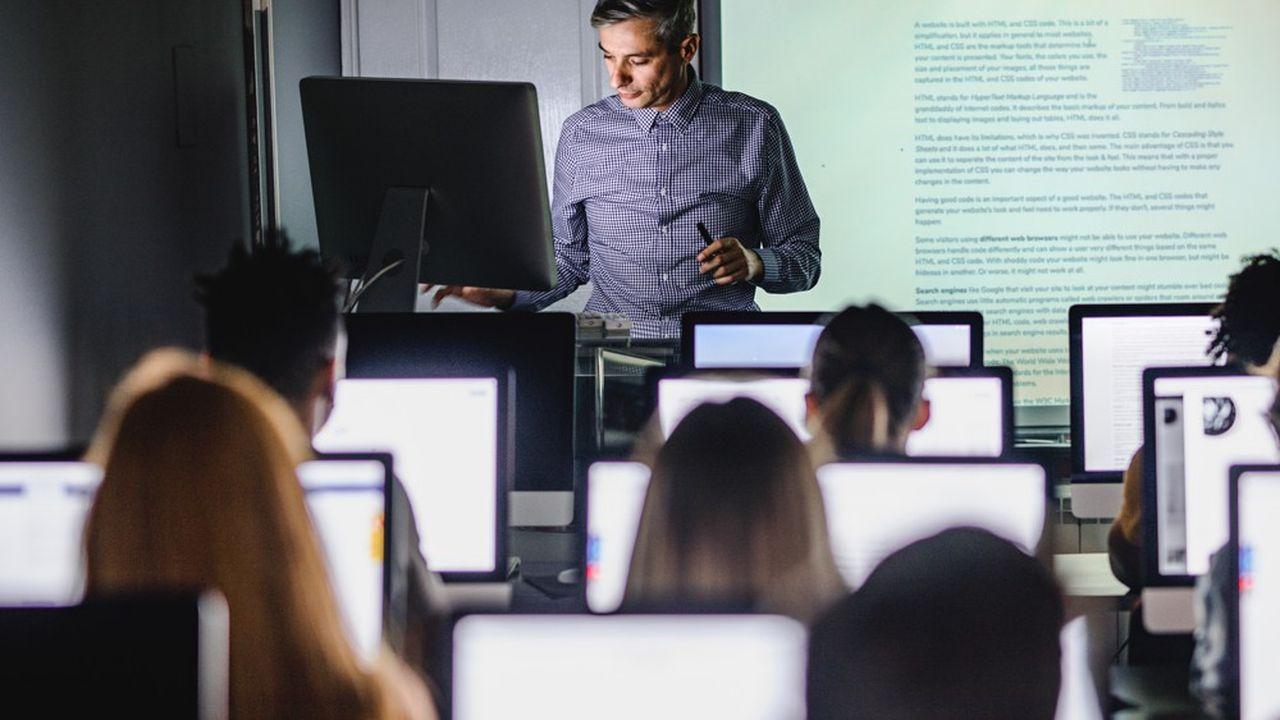 Cegos a augmenté son offre en ligne qui ne représentait que 5 à 10% de ses volumes, mais son modèle reste fondé sur les cours en présentiel.
