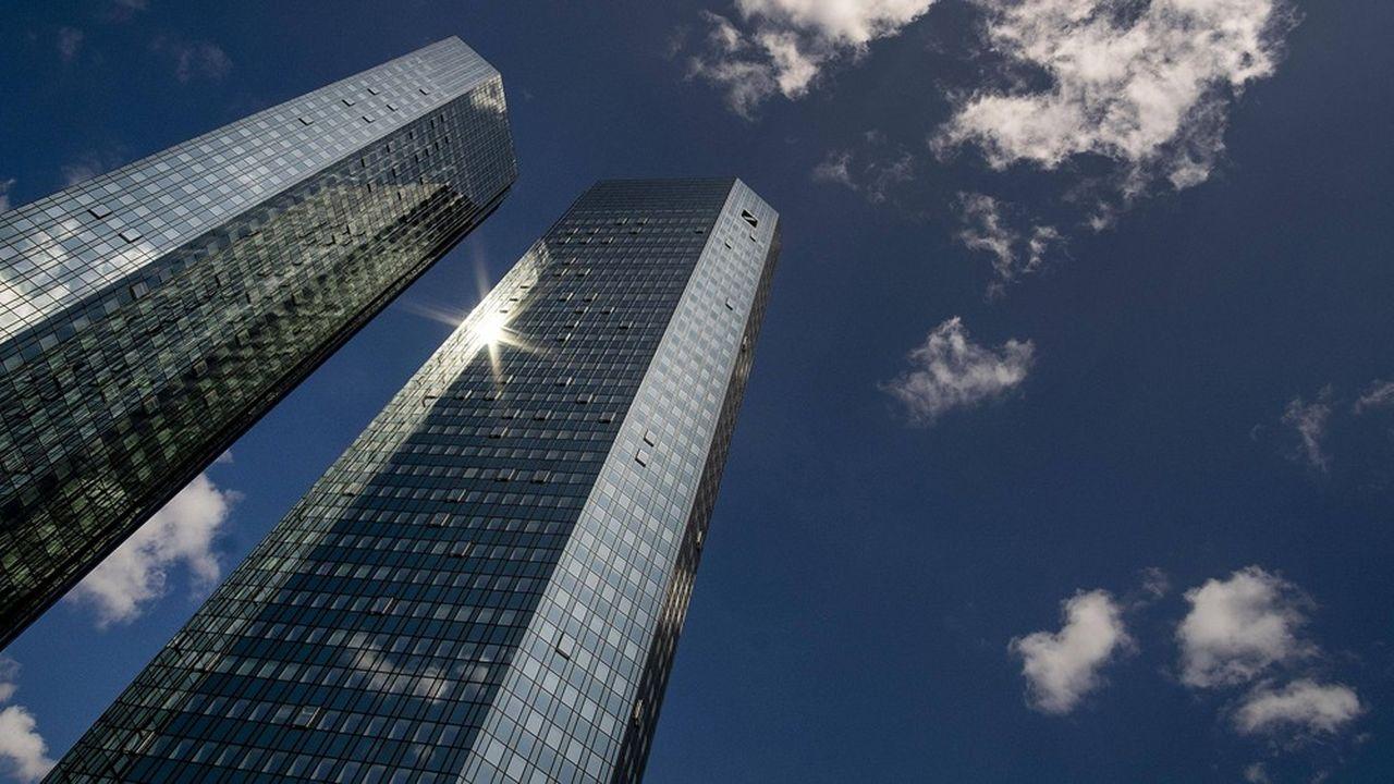 La Deutsche Bank est «déterminée à utiliser son bilan» pour soutenir les besoins des entreprises face aux risques liés à la pandémie de Covid-19