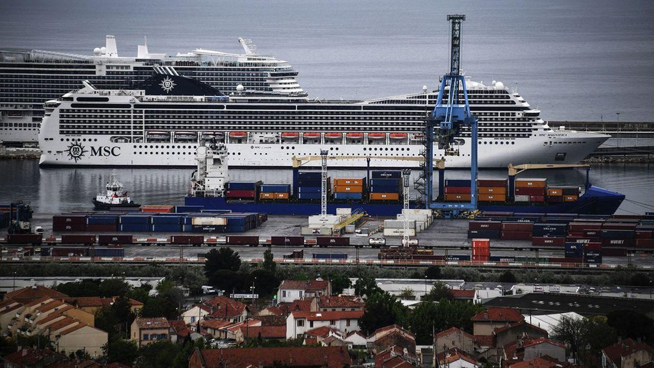 Le «MSC Magnifica» a débarqué ses 1.700 passagers, dont 700 Français, dans le port de Marseille le 20avril dernier.