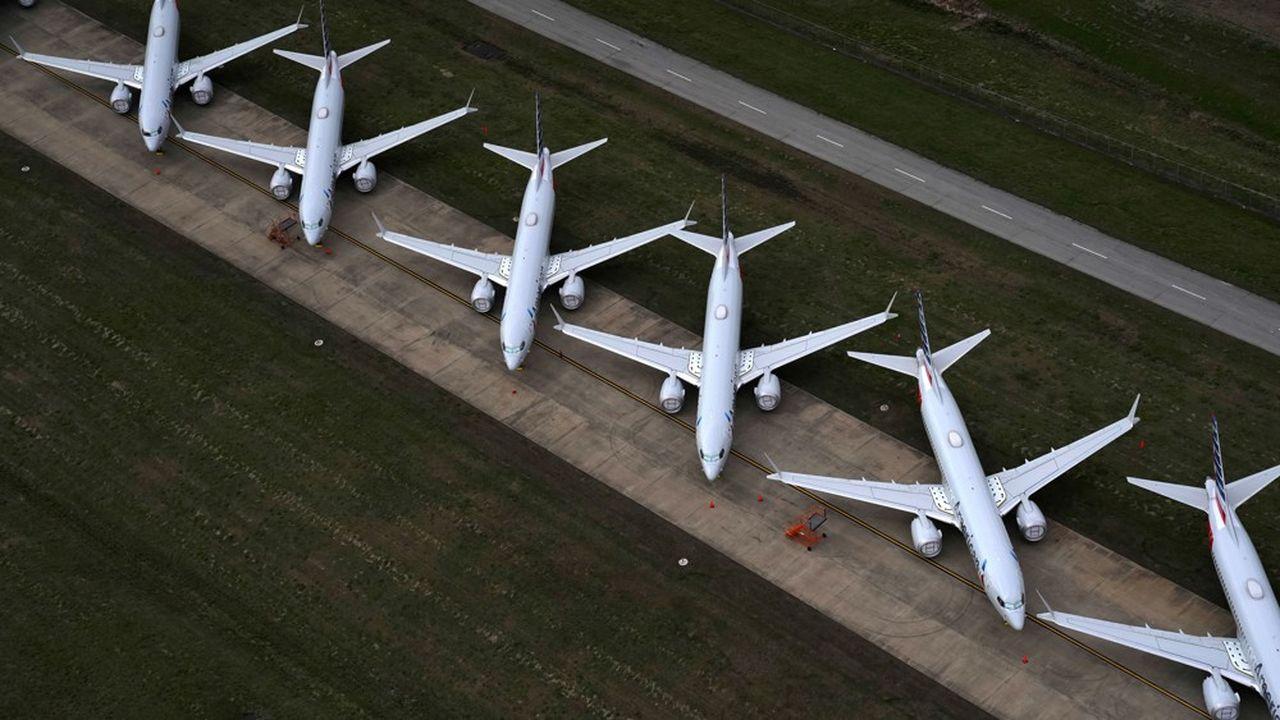 La crise du 737 max avait déjà creusé l'écart entre Airbus et Boeing sur le marché des avions commerciaux.