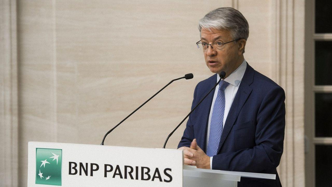 BNP Paribas, dirigé par Jean-Laurent Bonnafé,