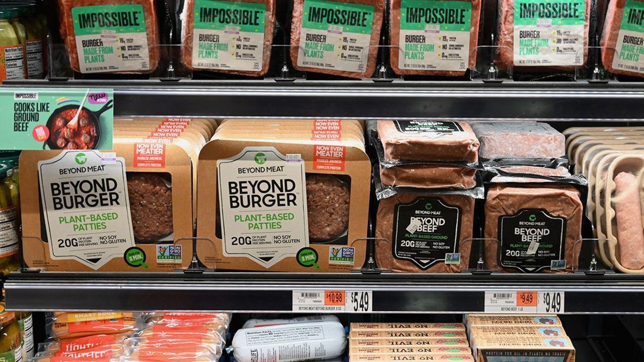 Chaque année, les chiffres d'affaires des entreprises du secteur de la viande végétale gonflent voire doublent de taille.