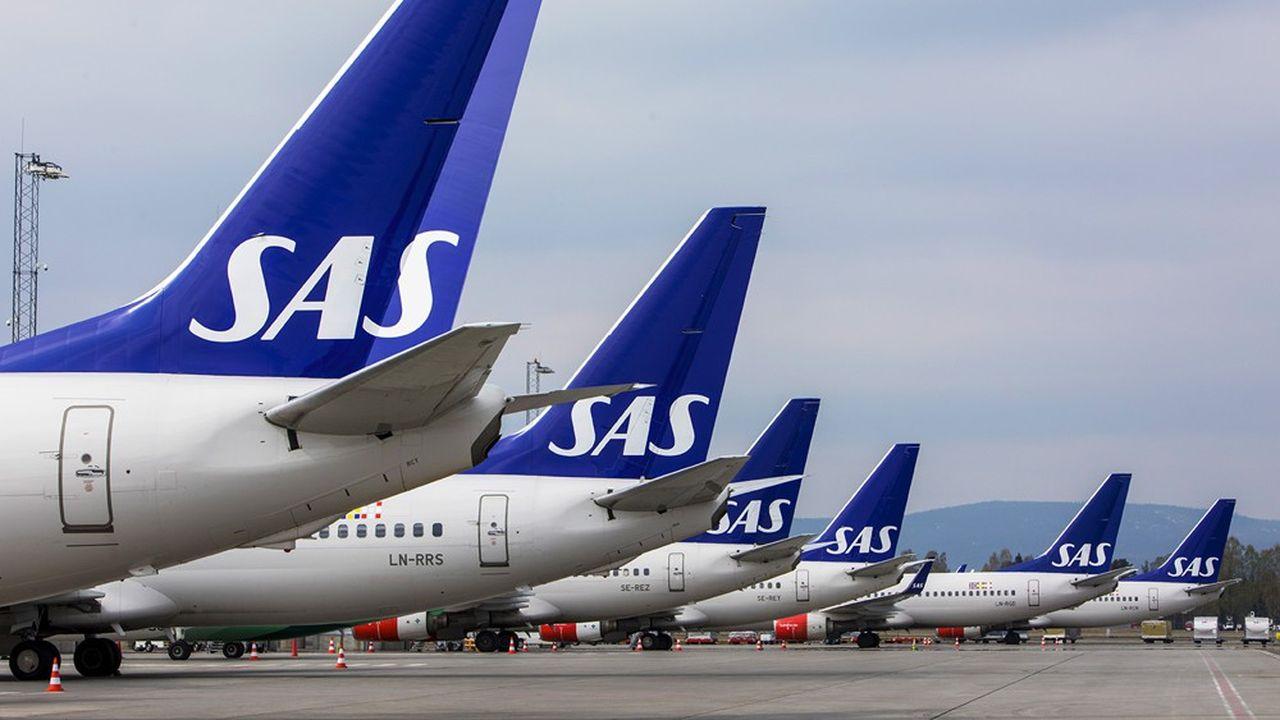 La principale compagnie scandinave SAS va supprimer quelque 5.000 emplois en Suède, au Danemark et en Norvège.