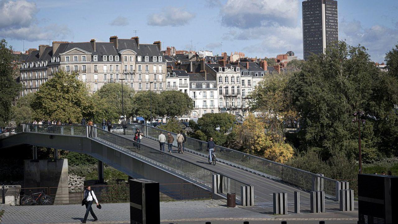 Le loyer moyen d'une location à Nantes tous types de biens confondus est de 677euros charges comprises, selon le baromètre SeLoger.