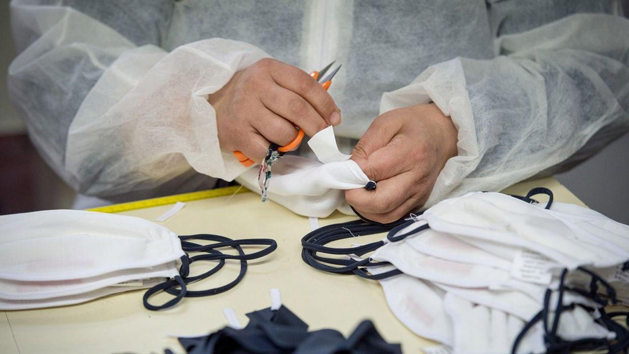 Trois entreprises bénéficient à ce jour du dispositif, dont MB & A, spécialiste de la sellerie aéronautique qui recherche des couturiers pour confectionner des masques