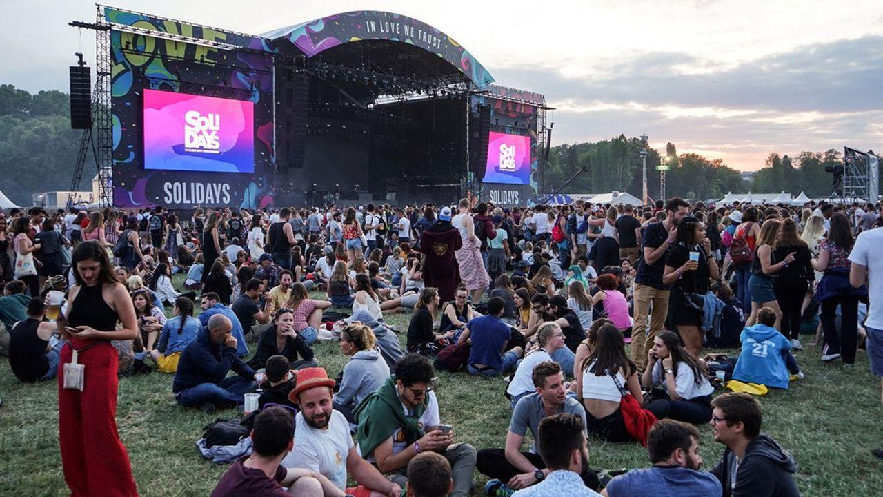 Solidays, l'un des premiers festivals annulés.