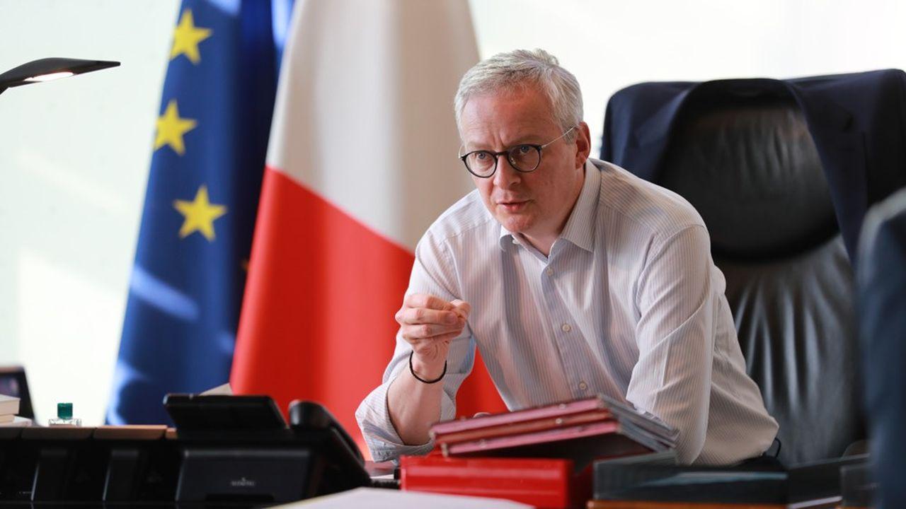 Bruno Le Maire a demandé qu'un «maximum de Français reprennent le travail» après le 11mai.