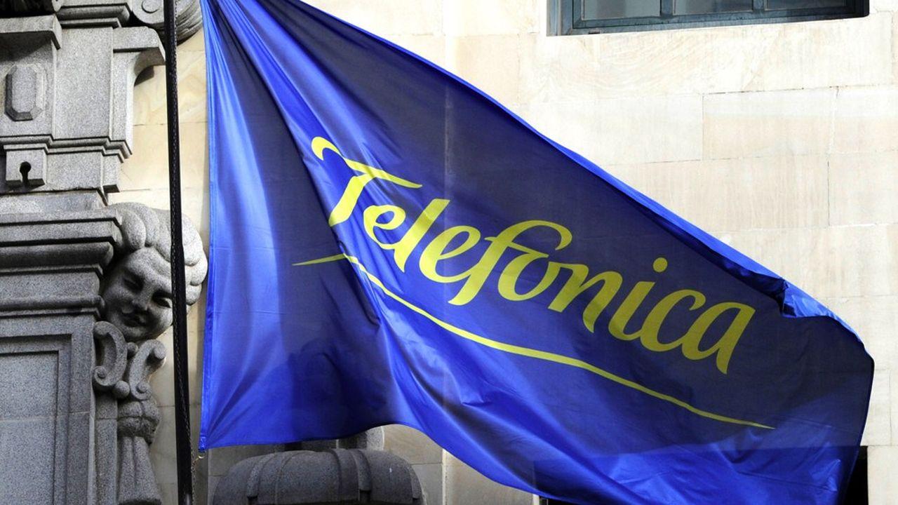 Telefónica a perduplus de 50% de sa valeur en Bourse dans les dernières semaines avant le confinement.