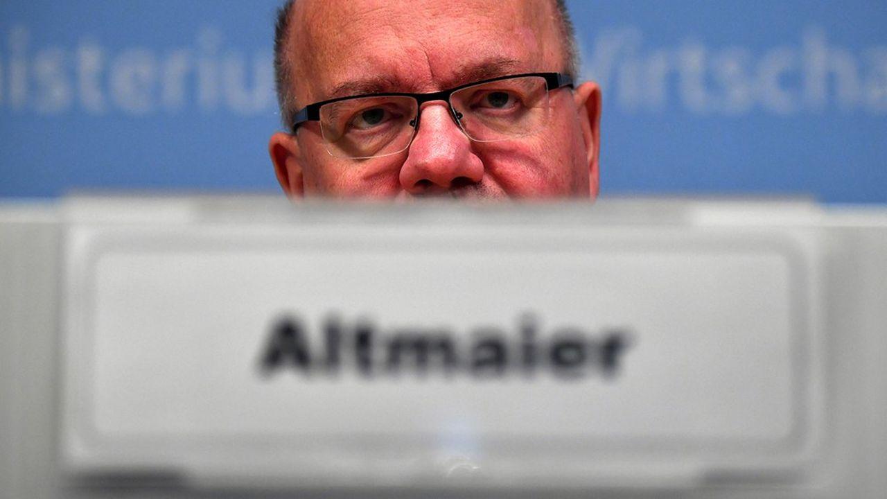 «Nous allons vivre la pire récession de l'histoire de la République fédérale allemande», a prévenu mercredi le ministre de l'Economie Peter Altmaier.