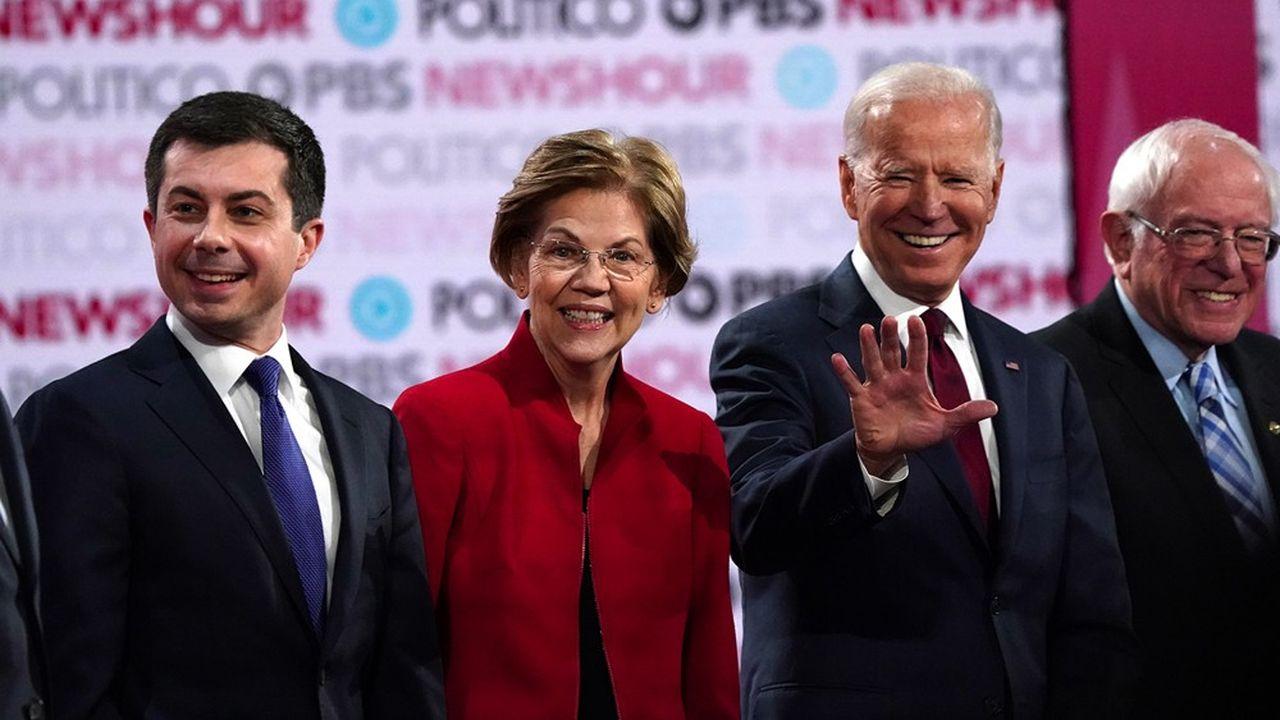 Un à un, les rivaux de Joe Biden ont jeté l'éponge et se sont ralliés, des plus ambitieux - Elizabeth Warren ou Pete Buttigieg - au plus fortuné - Michael Bloomberg. Même Bernie Sanders, le plus radical, s'est finalement incliné.