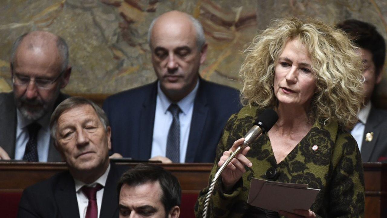 Martine Wonner à l'Assemblée nationale en novembre2017.