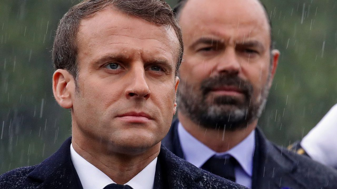 Emmanuel Macron et Edouard Philippe (photo d'archives/mai2019).