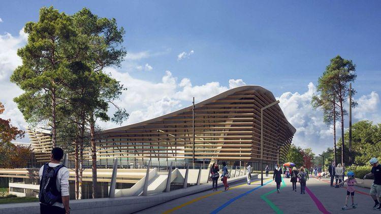 La toiture pourra supporter environ 5.000 mètres carrés de panneaux photovoltaïques.