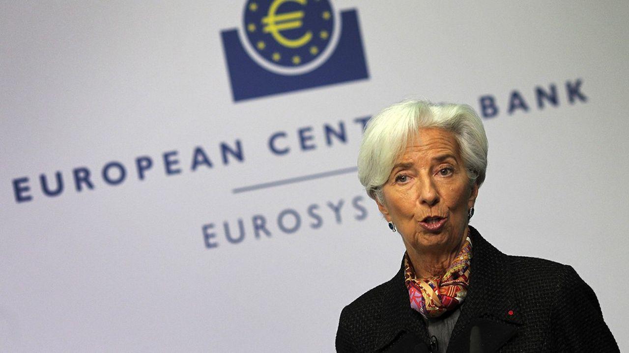 Christine Lagarde, présidente de la Banque centrale européenne (BCE).