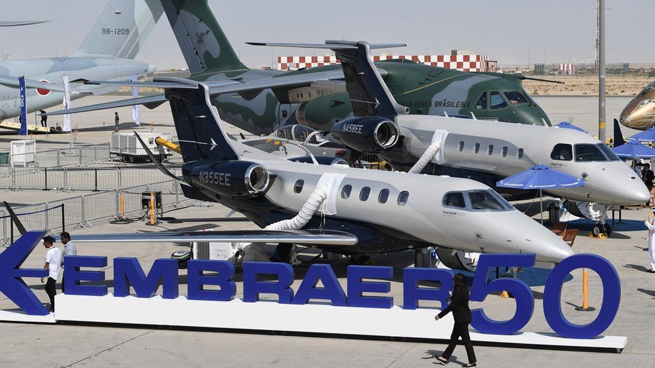 Embraer s'affirme toujours comme le « leader sur le marché des jets régionaux avec une part de marché de plus de 60 % » et voit dans le potentiel chinois une planche de salut.