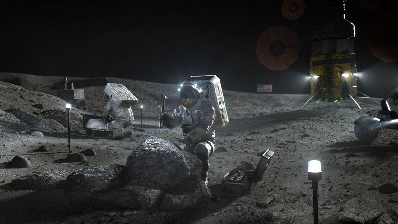 Le programme Artemis vise à envoyer des êtres humains sur la lune avant 2024.