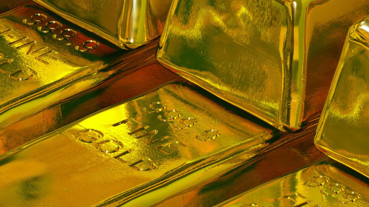 La production d'or a reculé de 3% au premier trimestre.