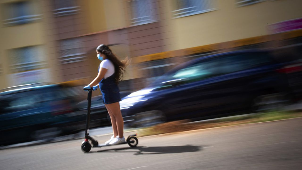 La trottinette devrait être l'un des modes de transport gagnant de la crise