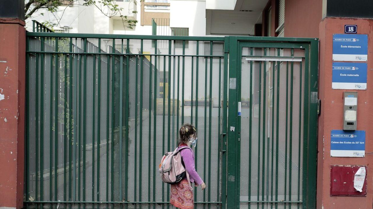 La rentrée des élèves ne devrait se faire, à Paris, que le 13 ou le 14mai.