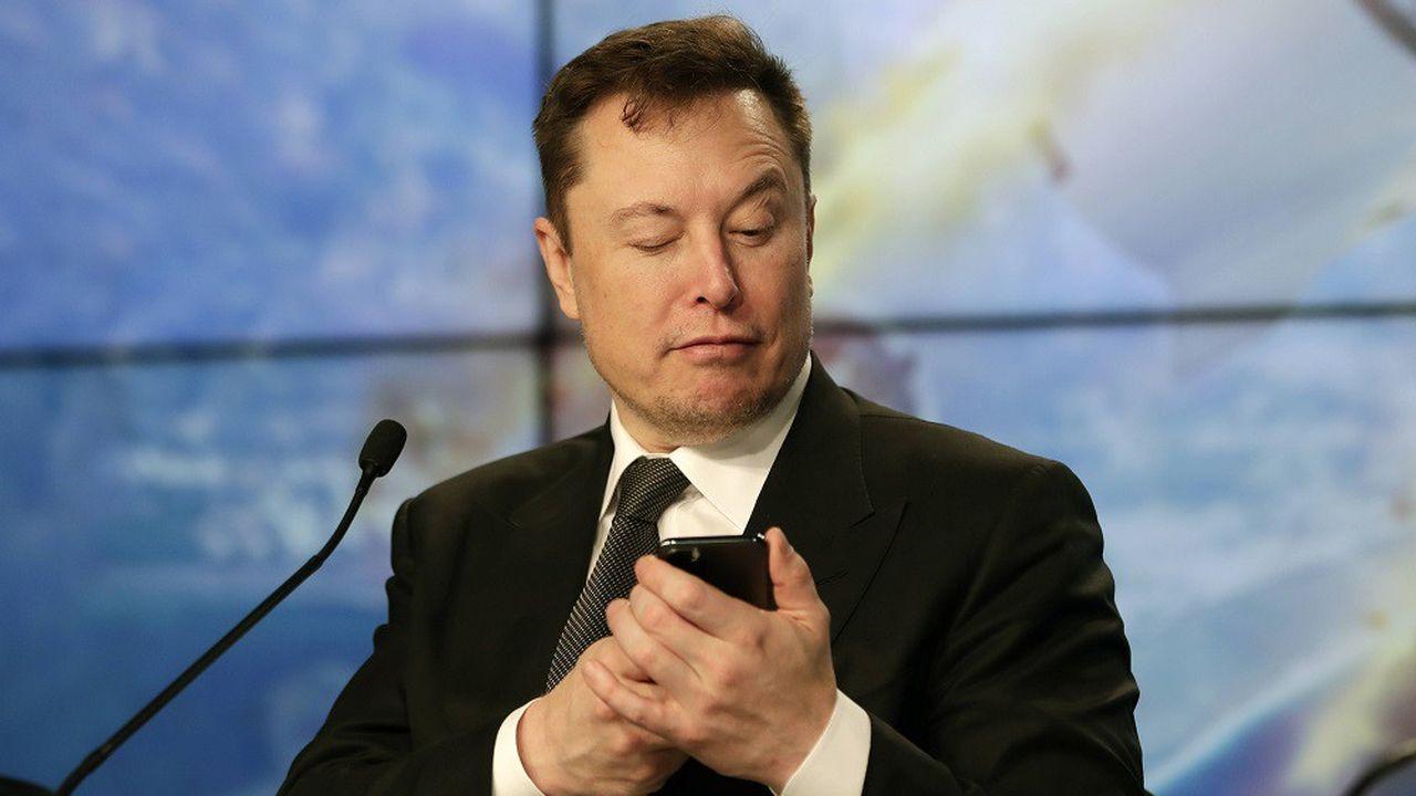 Dans un tweet, Elon Musk a jugé le cours de Bourse de Tesla «trop élevé».