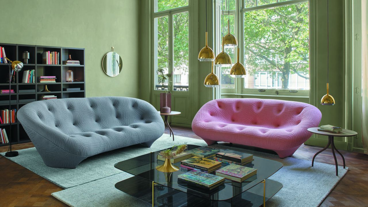 Les canapés et autres fauteuils représentent 60 % de la production du groupe Roset.