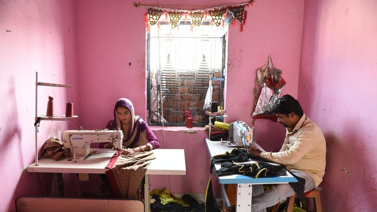 Les toutes petites entreprises sont particulièrement affectées par le confinement en Inde.