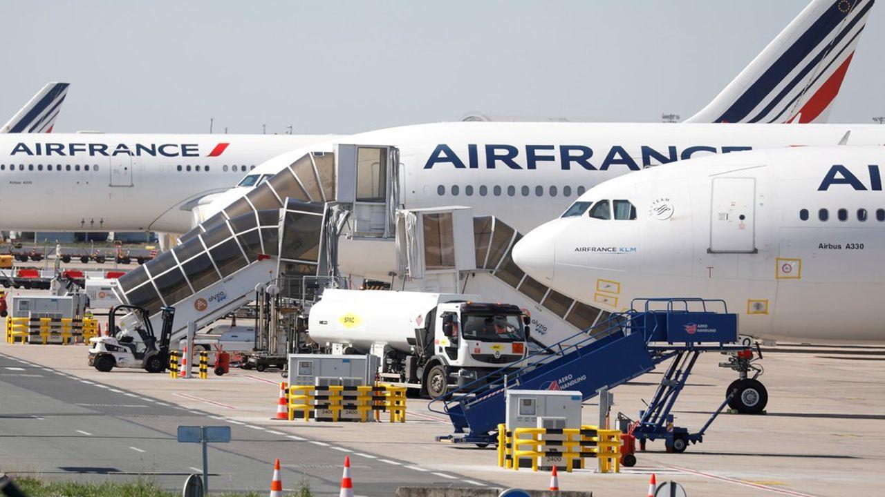 Le groupe Air France-KLM a vu son nombre de passagers chuter de plus de 56% en mars à cause de la pandémie de coronavirus.