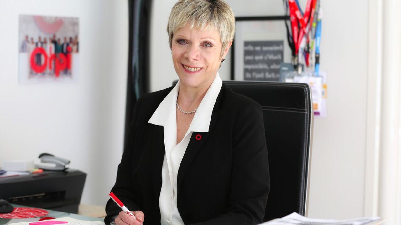 Christine Fumagalli à la tête du réseau d'agences immobilières Orpi.