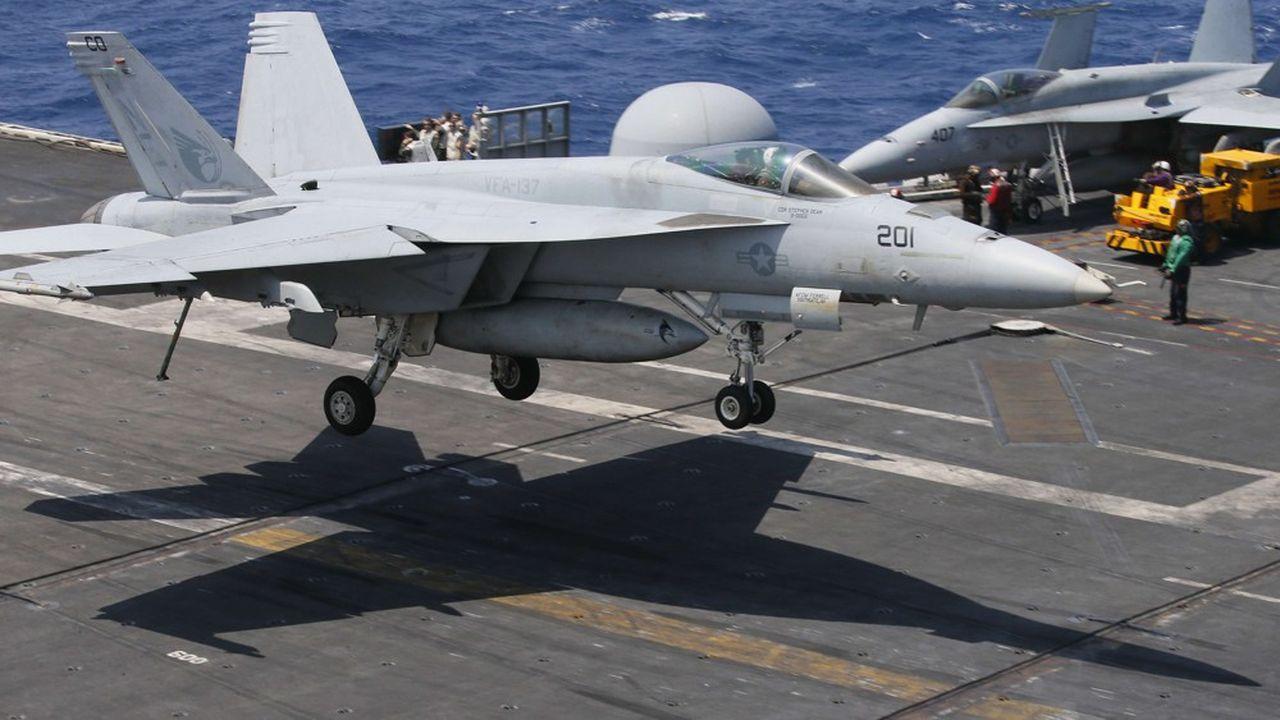 La ministre allemande de la Défense, Annegret Kramp-Karrenbauer, souhaite commander 30F-18 à Boeing pour remplacer les vieux Tornado capables d'embarquer des ogives nucléaires.
