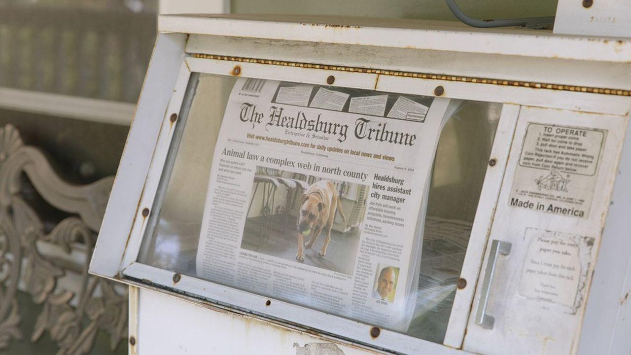En janvier, le «Healdsburg Tribune» a créé unestructure à but non lucratif afin de lever des fonds auprès d'organisations philanthropiques et de donateurs individuels.