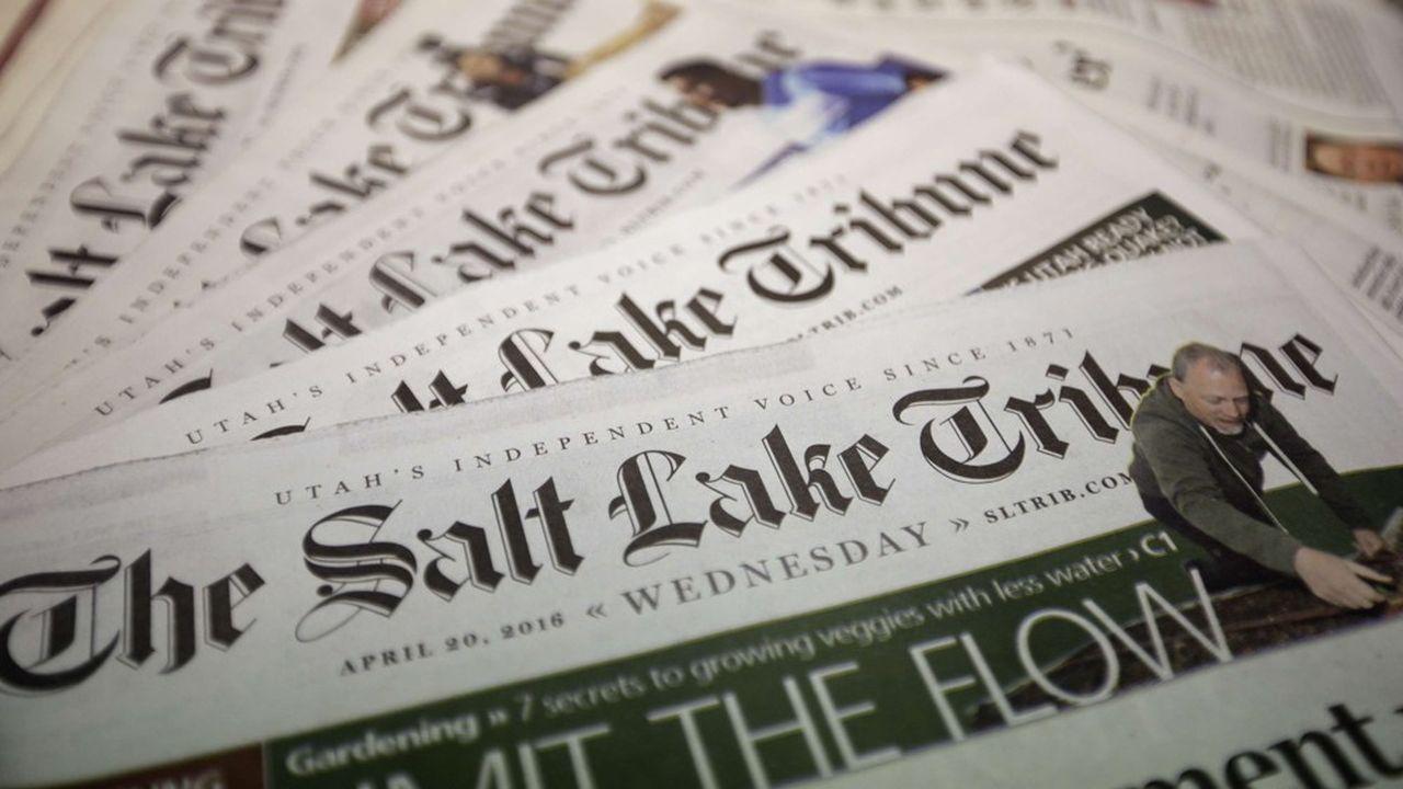 Le «Salt Lake Tribune» est l'un des rares journaux papiers centenaires à être devenu une structure à but non lucratif, la majorité sont des plateformes 100% numériques créées au cours des dix dernières années.