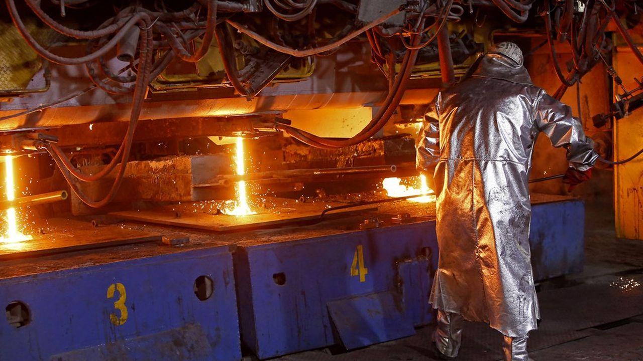 Sur le deuxième trimestre, les nouvelles commandes ne représentent que 30% de la capacité de production d'acier en Europe.
