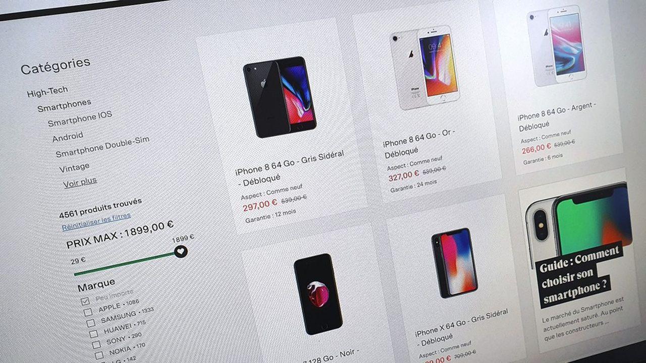 BackMarket est une place de marché d'appareils électroniques reconditionnés.