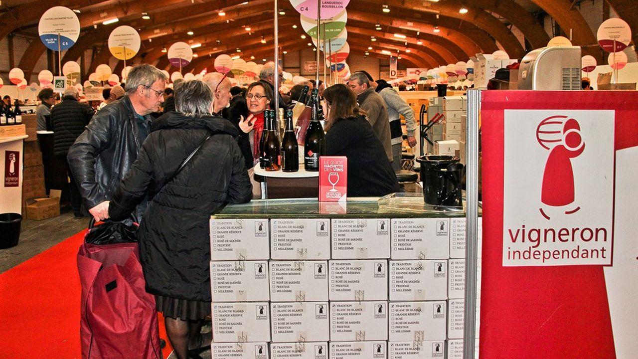 Le Salon des vins de vigneron indépendant.