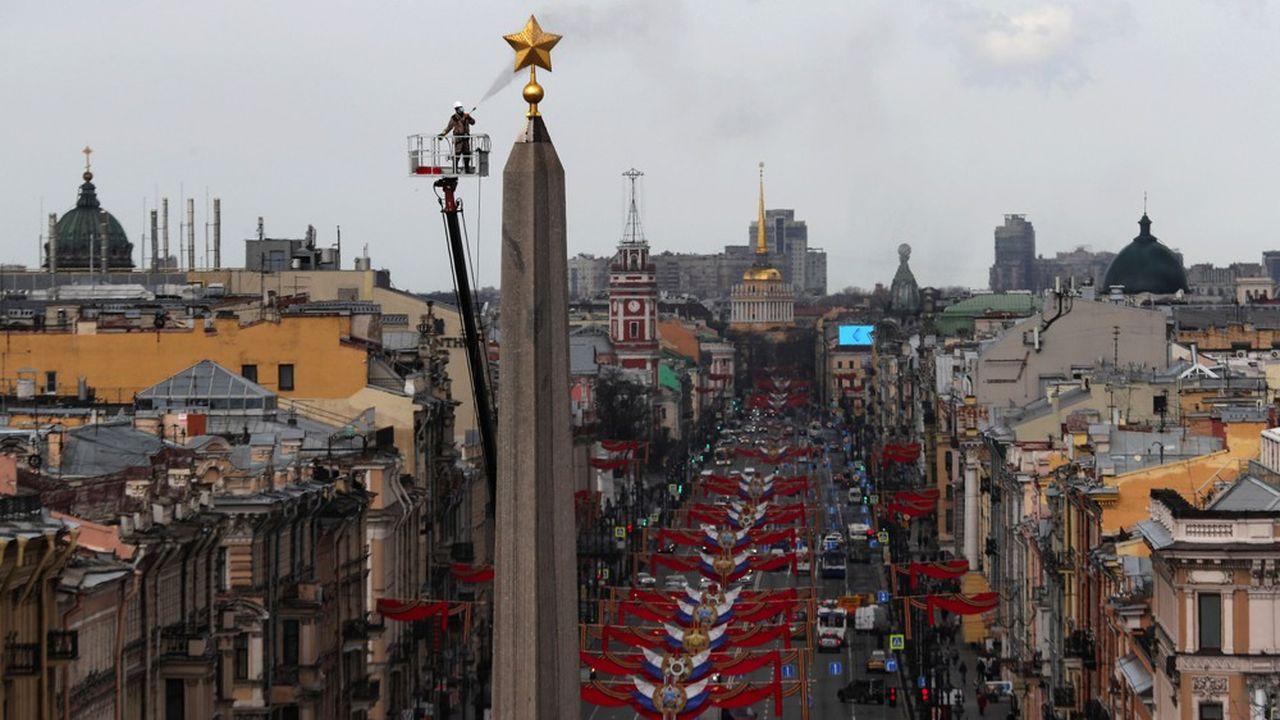 La ville de Saint Petersbourg est devenue le deuxième foyer de contagion en Russie.