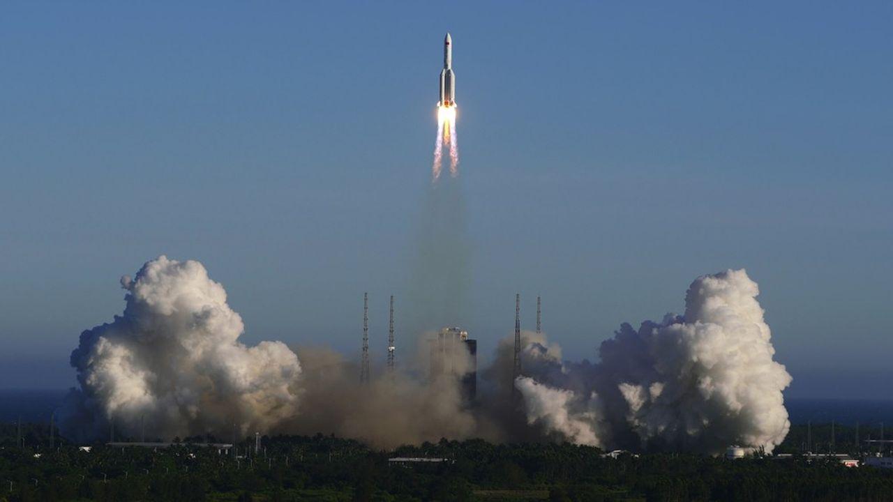 Pékin a annoncé le lancement avec succès d'un nouveau type de vaisseau.