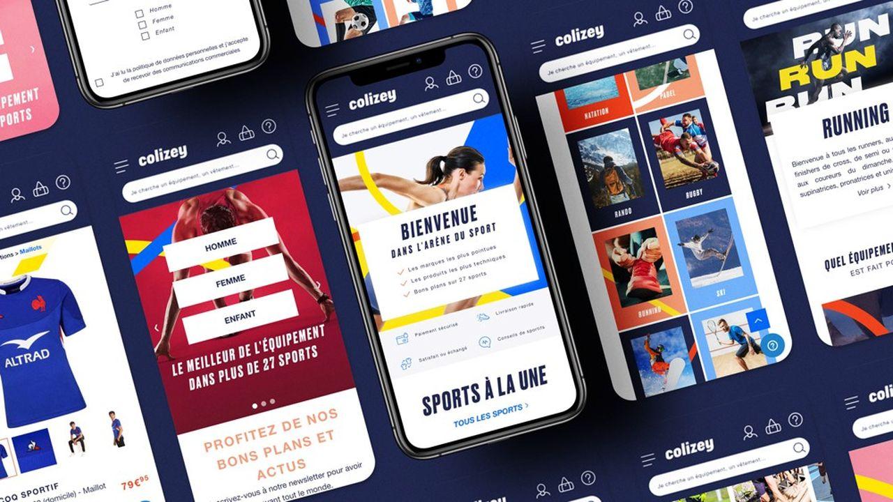 Colizey propose des produits dans une vingtaine de disciplines, mais se focalise pour le moment sur le running, l'outdoor et le tennis.