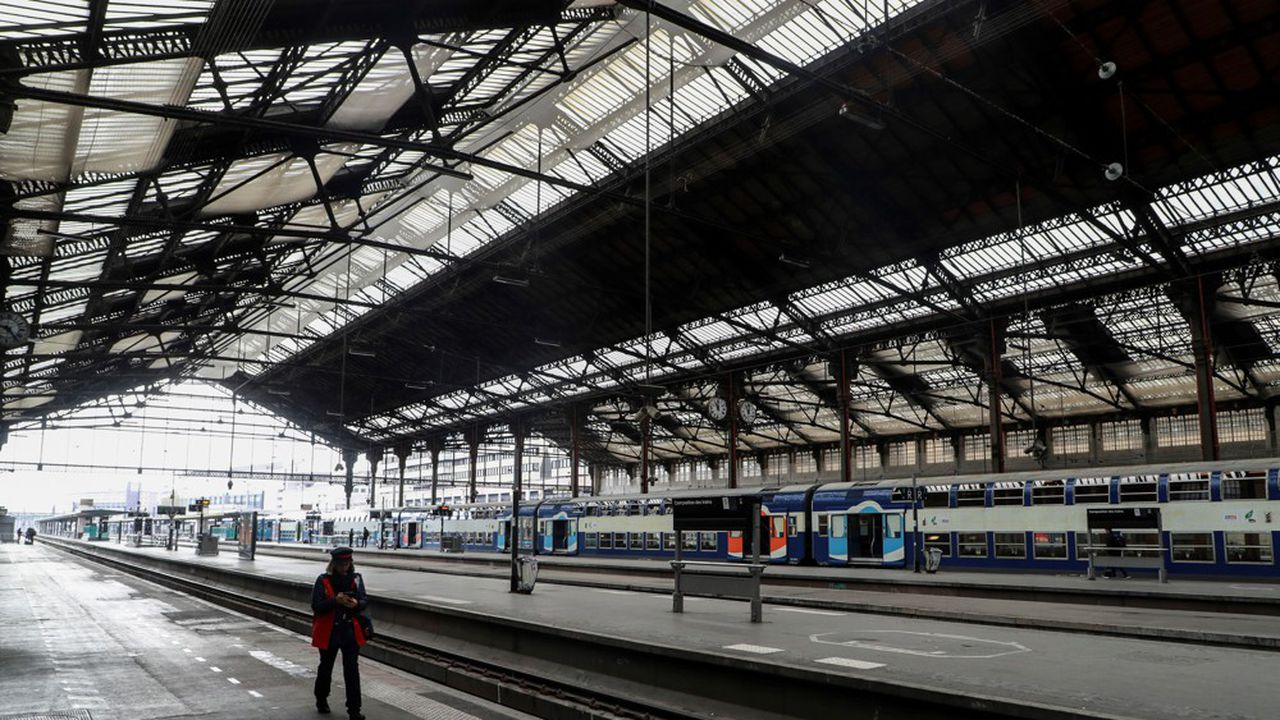 Le déconfinement sera l'un des plus gros défis à relever dans l'histoire de la SNCF.