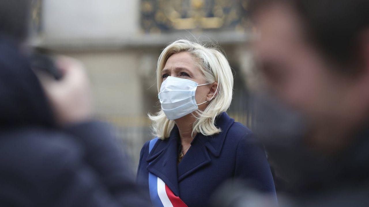 Marine le Pen, ici le 1ermai.