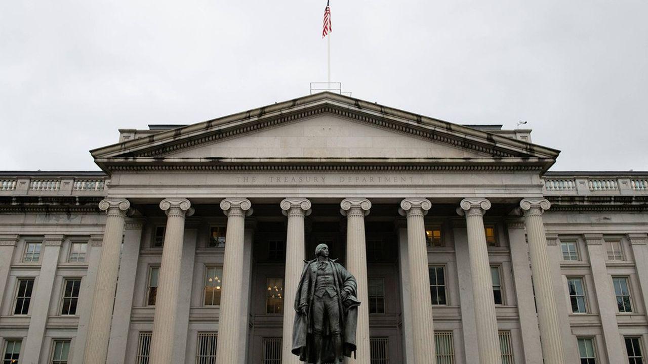 Le Département américain du Trésor à Washington