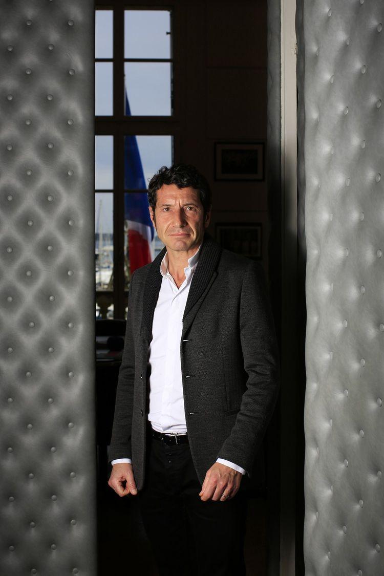 David Lisnard, photographié à la mairie de Cannes, le 24 avril dernier.