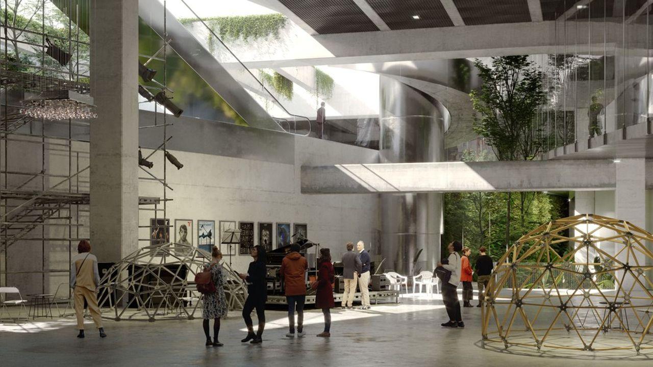 Le projet d'aménagement de la «cathédrale» dans les sous-sols de La Défense.