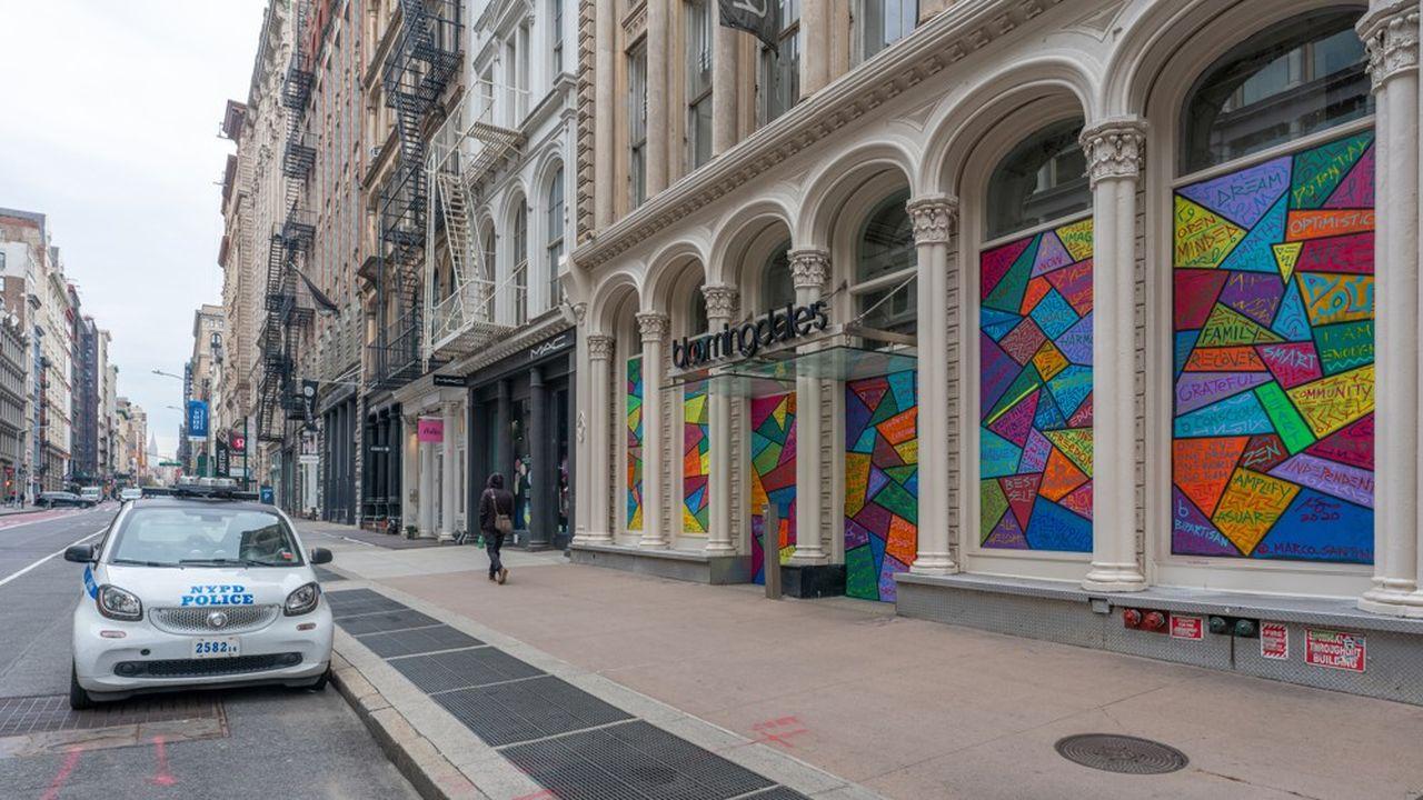 Les grands magasins, comme Bloomingdale's à New York, vont devoir se réinventer.