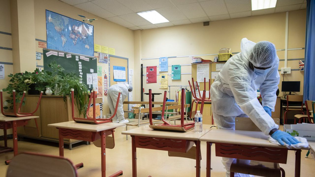 «Nous allons être particulièrement attentifs aux élèves décrocheurs», assure le ministre de l'Education nationale, Jean-Michel Blanquer.