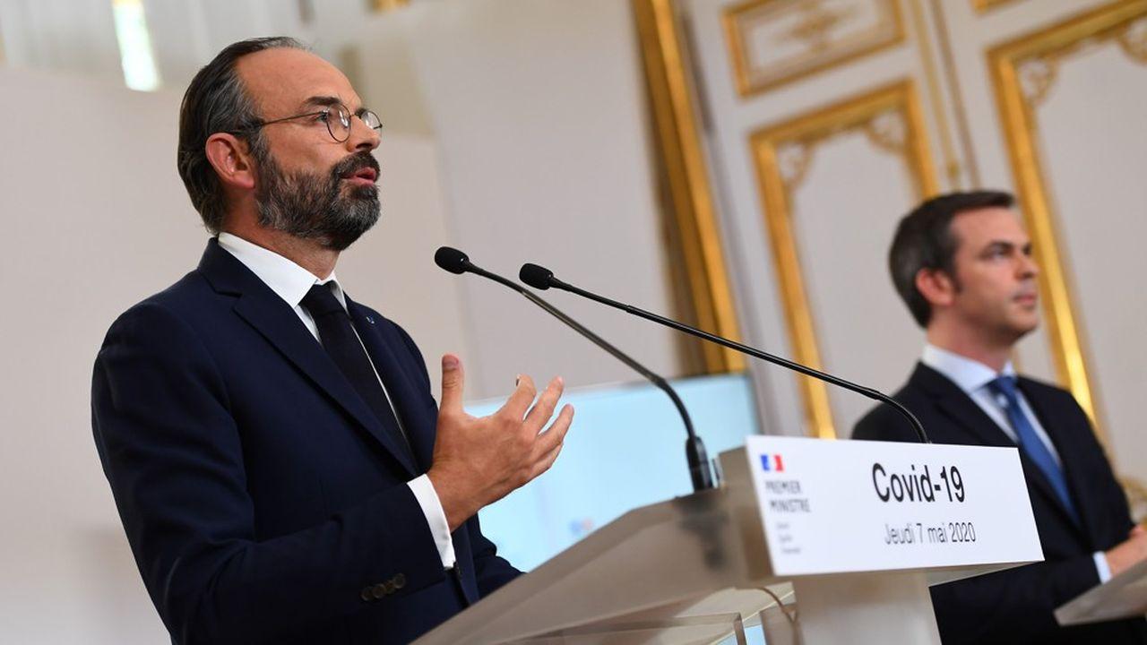 Le Premier ministre, Edouard Philippe, a tenu ce jeudi avec une partie du gouvernement une conférence de presse pour tenter de clarifier les règles de la vie à partir du 11mai dans les départements rouges et verts.