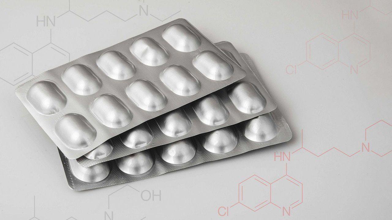 L'hydroxychloroquine est un médicament utilisé contre le paludisme.