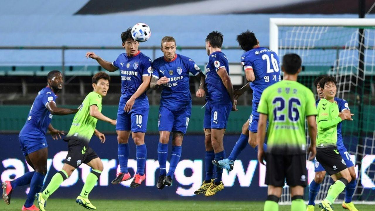 Le football a repris ce vendredi en Corée du Sud (photos) — Coronavirus