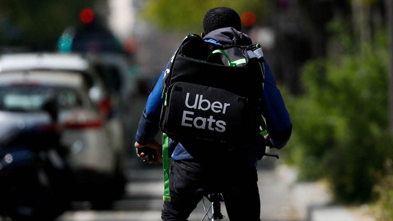 Le service de livraison d'Uber lui a permis de limiter les dégâts au premier trimestre.